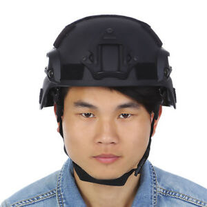 Tactical Helmet Airsoft Gear Paintball Head Protector For Night Vision Camera