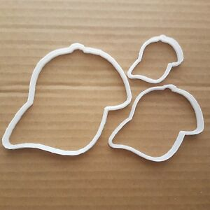 Hat Cap Snap back Head Wear Shape Cookie Cutter Dough Biscuit Pastry Stencil
