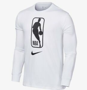 NIKE MEN'S NBA DRY FIT LONG WHITE 923599-100