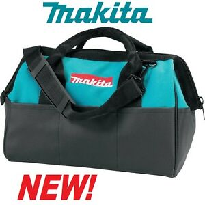 NEW MAKITA 14x10x9 Contractor Tool Bag Storage Case w/Outside Pockets # 831253-8