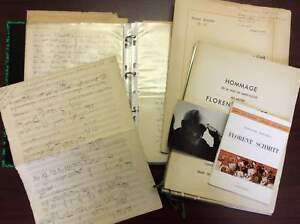 Florent SCHMITT (Composer): Collection of Ephemera and Biography of the Composer