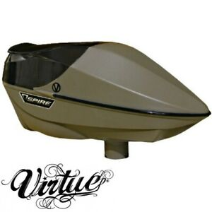 Virtue Tactical Spire Paintball Trémie ( Fde / Forme Plate, Dark Earth )