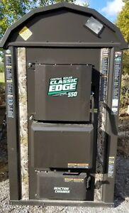CENTRAL BOILER CLASSIC EDGE STAINLESS 550 HD OUTDOOR WOOD FURNACE - CAMO