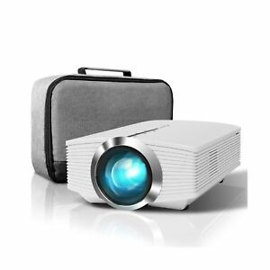 ELEPHAS Mini Projector 2400 Lux Home Theater Video Projector Support 1080P w...