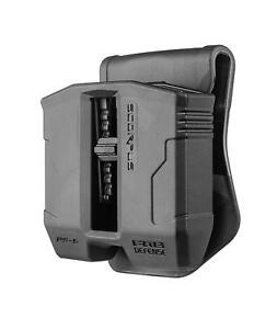 FAB Defense SCORPUS DOUBLE MAG POUCH FOR GLOCK 9MM .40 MAGAZINE Paddle