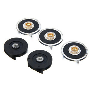 3 Plastic Gear Base & 2 Rubber Gear Replacement Set For Magic Bullet Spare·PV