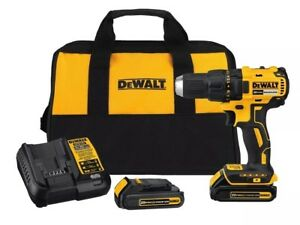 DEWALT 20-Volt Max 1/2-in Lithium Ion (Li-ion) Brushless Cordless Drill (2-Batte