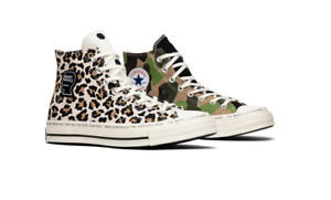 Brain Dead Converse Chuck 70 Hi Top What The 163166C Camo Men's DS Sizes In Hand
