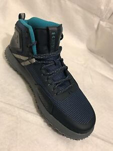 Under Armour Fat Tire Mid Michelin Charged Hiking Boots 1296611-861 Size 11 Mens