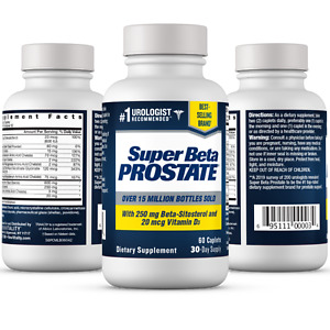 Super Beta Prostate Supplement Reduce Frequent Urges to Urinate NEW FREE SH $19.29