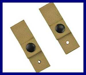 Tactical Goggle Retention Straps For MICHACH Helmet TAN FREE SHIPPING