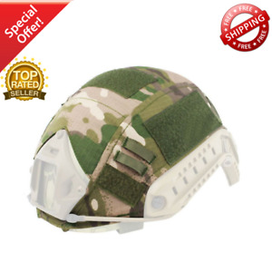 Tactical FAST Helmet COVER Airsoft Gear Military Army  PJ Accessories Type Camo