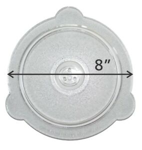 Cuchina Safe Vented Glass lid for microwave steamingreheating amp; covering bowls