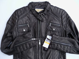 NWT NEW MICHAEL KORS WOMEN'S GENUINE BLACK LEATHER MOTO JACKET NEW    Sz. SMALL