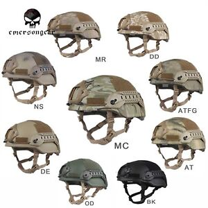 Hunting military army Helmet Emerson Tactical ACH MICH 2002 Special Action