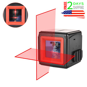 Laser Level Self-Leveling Horizontal Vertical Cross-Line Laser Construction 360