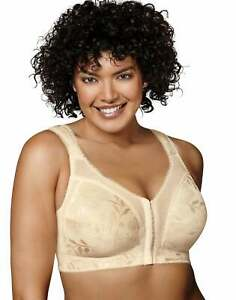 Playtex 18 Hour Easier On Front Close Wirefree Bra Flex Back Women Comfort Strap