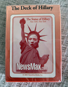 The Deck of Hillary - This is a collector's item.  It is out of print.