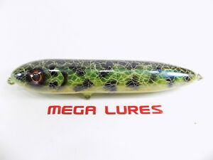No513 Mega Bullet Walk the Dog Surface Handmade Fishing Lure Pike Bass Musky