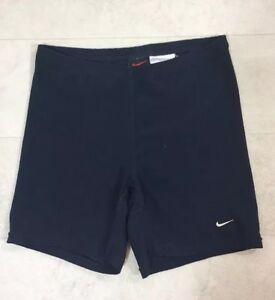 Nike Womens Shorts Sz Small Alpha Project Navy Blue Cycling Running Compression