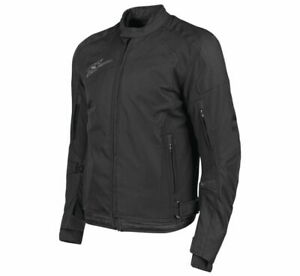 Speed & Strength Men's Sure Shot Textile Jacket Size 3XL Black