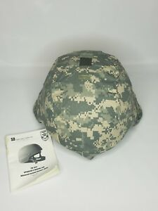US Military ACH Advanced Combat Helmet Large With Pads and Cover New