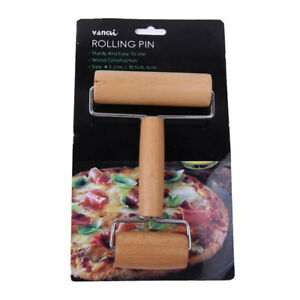 1* Wooden Non-stick Glide rolling pin Fondant Cake Dough Pizza Roller Tool -WE85