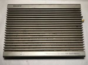 Sony XMS400D 4 Channel Compact MOSFET Class D Stereo Amplifier 400w 45x4 RMS Amp