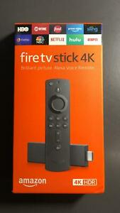 New Amazon Fire TV Stick 4K with Alexa Remote HD Media Latest Model For 4K TV