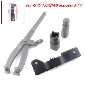 Variator Flywheel Puller Clutch Removal Repair Tool for GY6 139QMB Scooter ATV