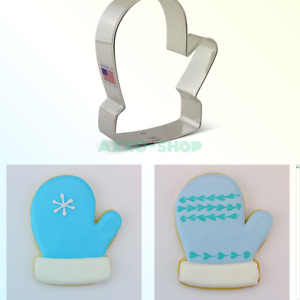 Ann Clark Winter Mitten Cookie and Fondant Cutter - 4 Inches - US Tin Plated ...