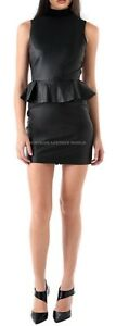 Spring Designer Lamb New Leather Women Dress Cocktail Stylish Party Wear  D-002