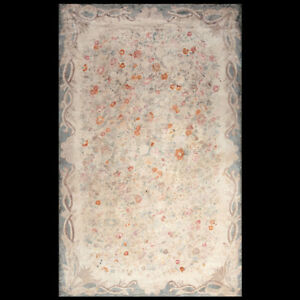Antique American Hooked Rug 8'2