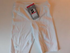 XS White Under Armour Womens Compression shorts New Old Stock New With tags