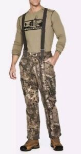 Under Armour UA Extreme Wool Hunting Pants Bib RealTree Camo SZ (1297439-946)