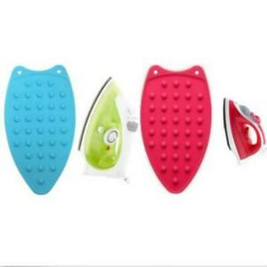Silicone Iron Hot Protection Rest Pad Mat Safe Surface Iron Stand Mat Ironing Q $6.56