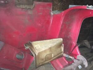 Used Mack truck front end and hood fiberglass molds