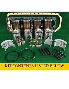 RP975198 Allis Chalmers 248 Perkins Diesel 4.2L L4 MAJOR Engine Rebuild Kit