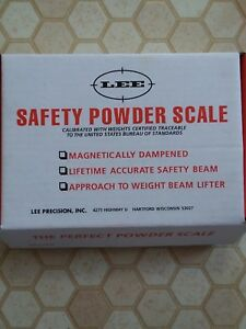 LEE SAFETY POWDER SCALE 90681
