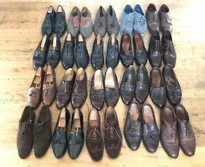 Huge Lot of 20 Men's Designer Dress Shoes Size 12