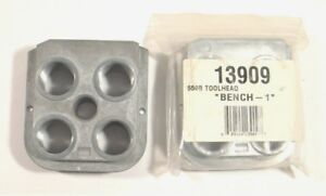 2 - DILLON 550B TOOL HEADS - 1 NEW  1 USED