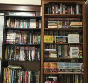 751 Comic book trade paperbackshardcovers graphic novels and manga collection