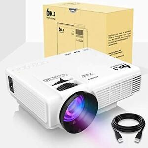 Video Projectors DR.J (2018 Upgraded) 4Inch Mini With 170