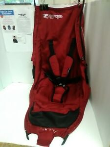 Quinny Zapp Kids Baby Stroller Red Seat Cover Cushion Support Replacement Only.