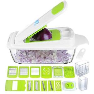 Vegetable Chopper Pro Onion - Mandoline Slicer Dicer Cutter & Grater Strongest