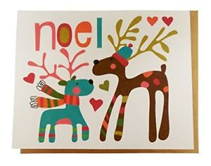 The Gift Wrap Company Recycled Boxed Holiday Cards Warmest Noel $11.99