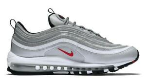 884421-001 Nike Air Max 97 OG QS Silver Bullet Men's Sneakers Shoes size US 10