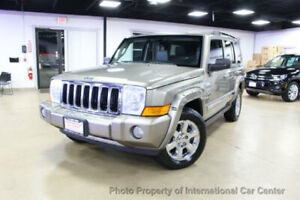 2006 Jeep Commander 4dr Limited 4WD 4dr Limited 4WD SUV Automatic Gasoline 4.7L 8 Cyl  Light Khaki Metallic