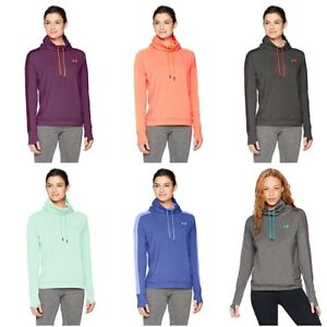 Under Armour Women's Fleece Funnel Neck Running Hoodie Sweatshirt Size XS - 2XL