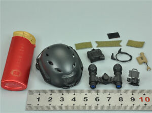 Helmet & NVG for MODELING TOYS MMS9003 US NAVY SEAL UNDERWAY BOARDING UNIT 16